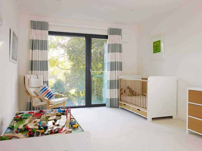 Kubus Haus Crichton - Baufritz Kinderzimmer
