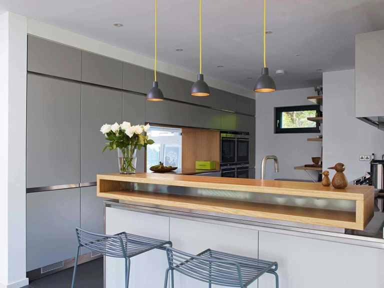 Kubus Haus Crichton - Baufritz Küche