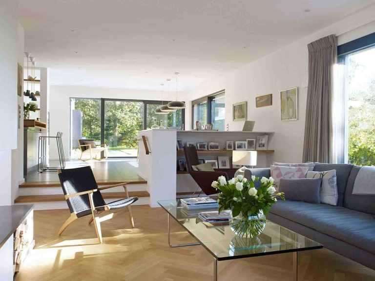 Kubus Haus Crichton - Baufritz Wohnbereich