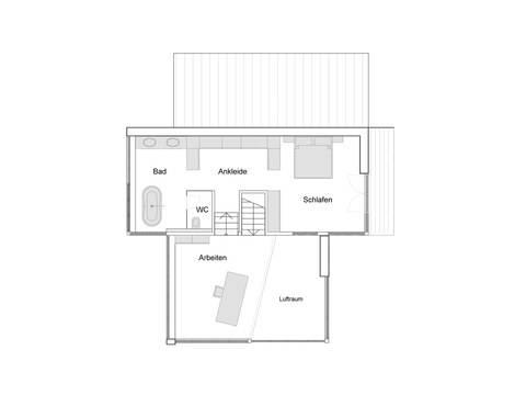 Grundriss Dachgeschoss Haus Eliasch Baufritz