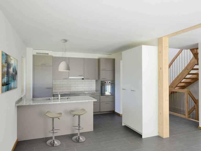 Mehrfamilienhaus Gardet - Baufritz Küche