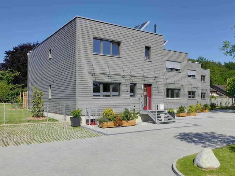 Mehrfamilienhaus Gardet Baufritz