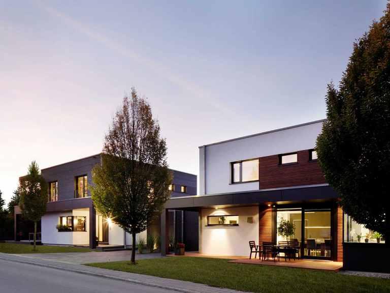 Doppelhaus Nilles Baufritz