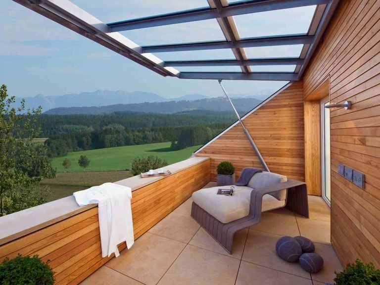Designhaus Qi - Baufritz Terrasse
