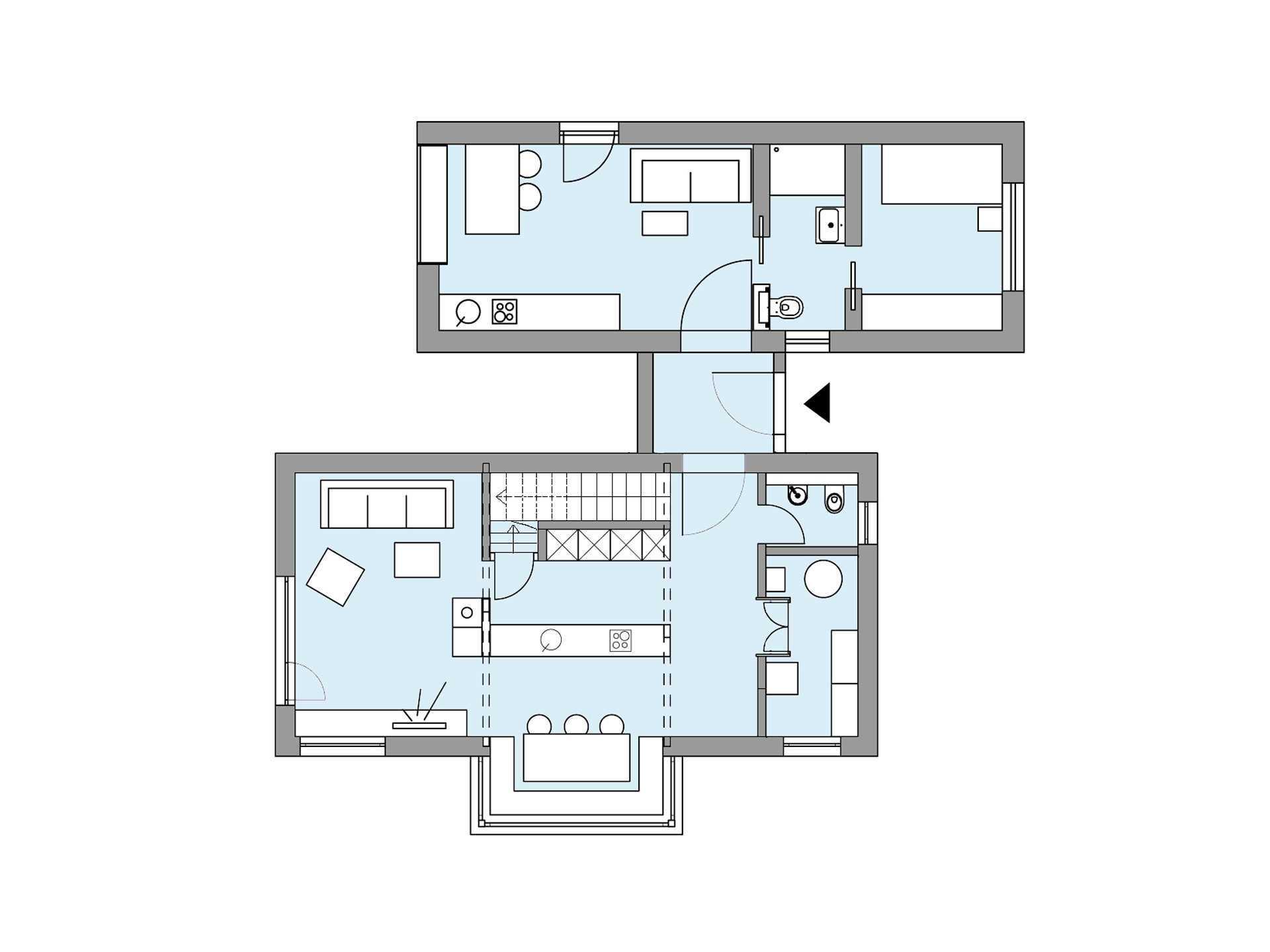 musterhaus s1 baufritz. Black Bedroom Furniture Sets. Home Design Ideas