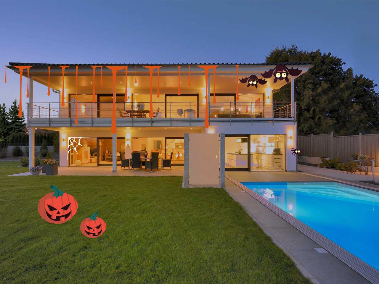 Stadtvilla Riederle Halloween