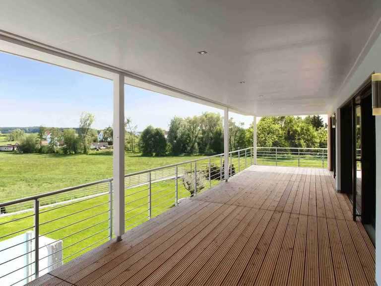 Stadtvilla Riederle - Baufritz Balkon