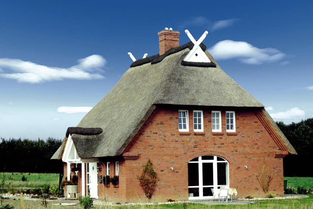 Gut bekannt Kruse-Haus - Reetdachhaus - Ansichten, Grundrisse und Preise IV22