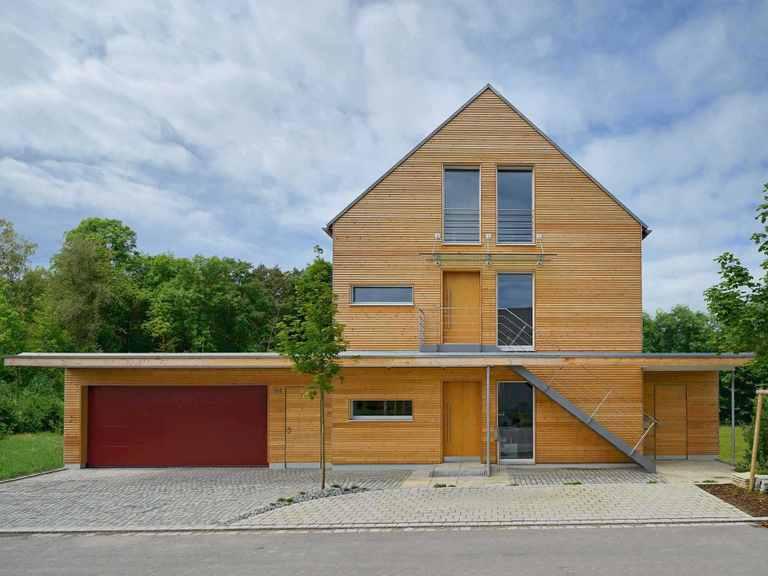 Mehrfamilienhaus Erstling von Baufritz