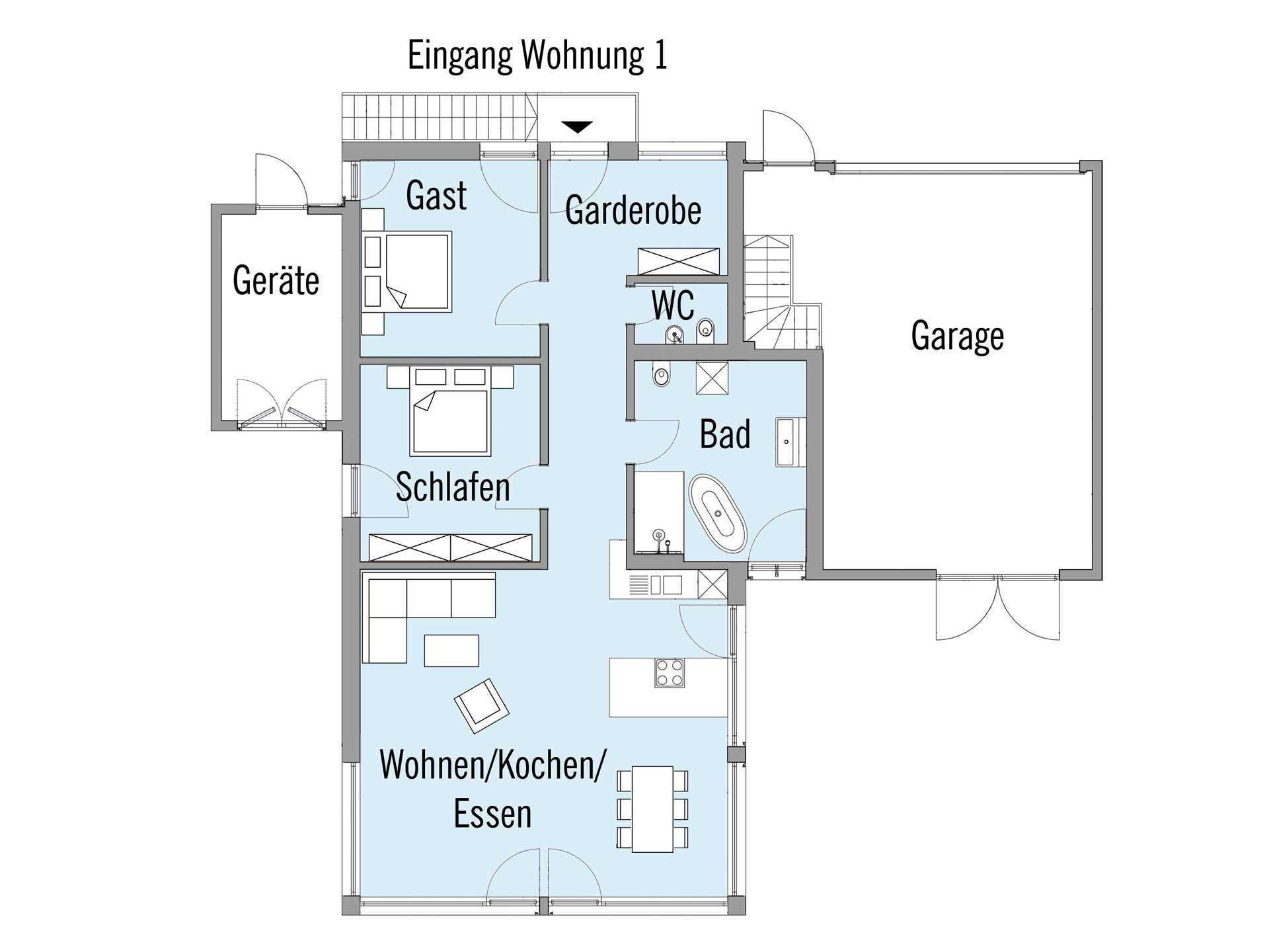 mehrfamilienhaus erstling baufritz. Black Bedroom Furniture Sets. Home Design Ideas