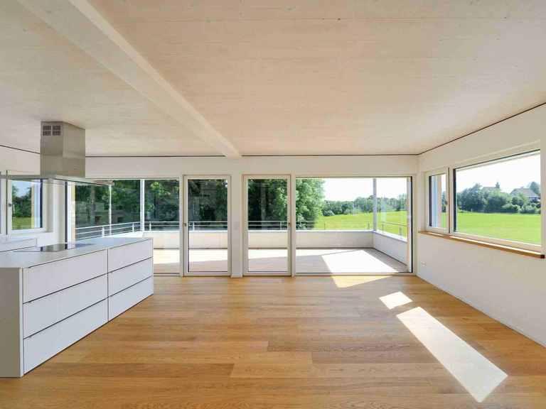 Mehrfamilienhaus Erstling - Baufritz Küche