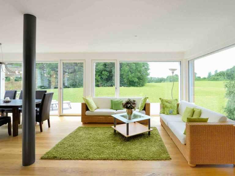 Mehrfamilienhaus Erstling - Baufritz Wohnbereich