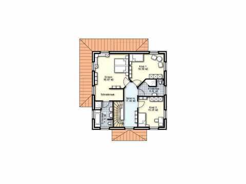 Stadtvilla Helsinki - OLFA-Haus GmbH Grundrisse DG