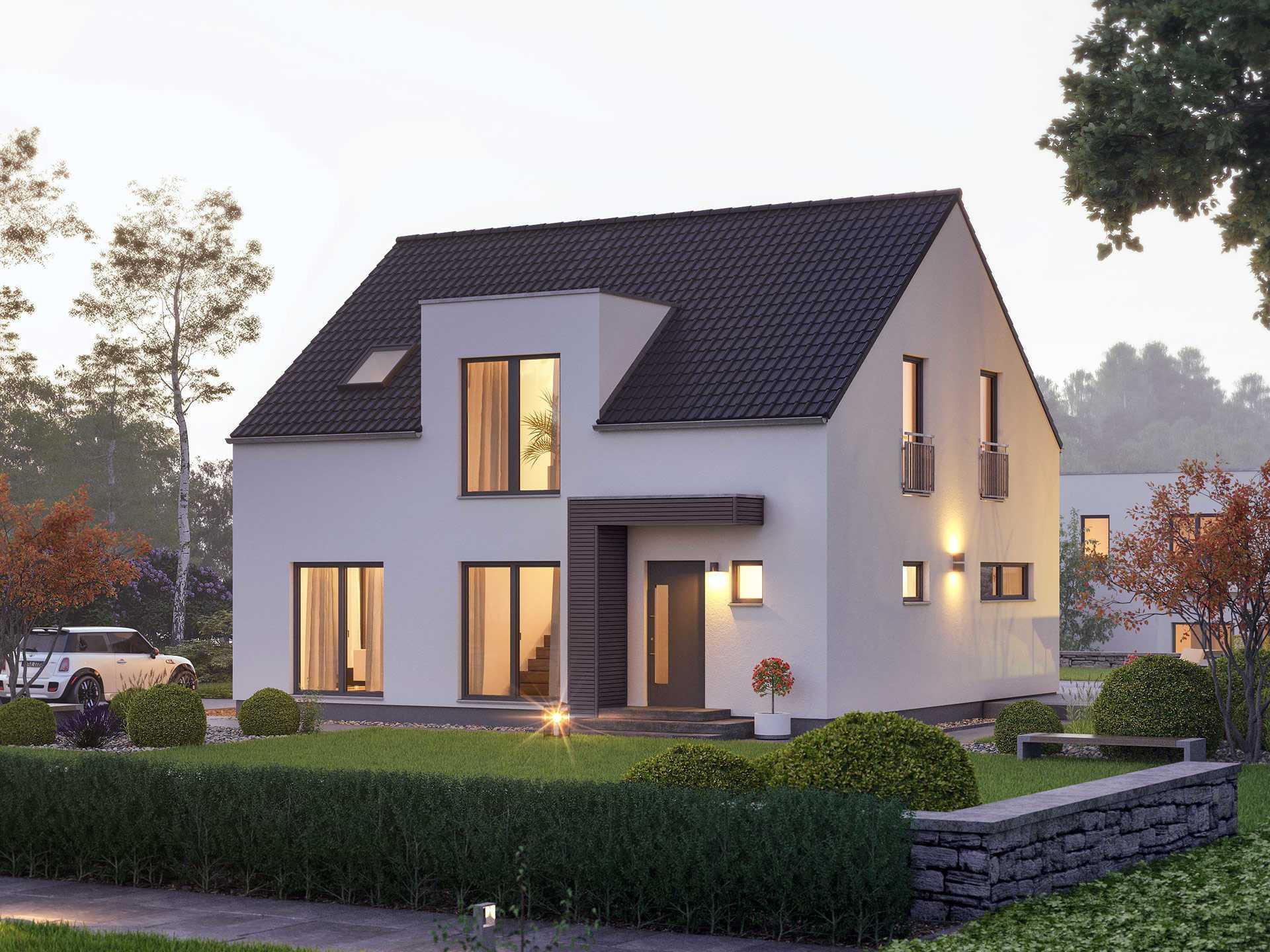 einfamilienhaus pure 5 massa haus. Black Bedroom Furniture Sets. Home Design Ideas