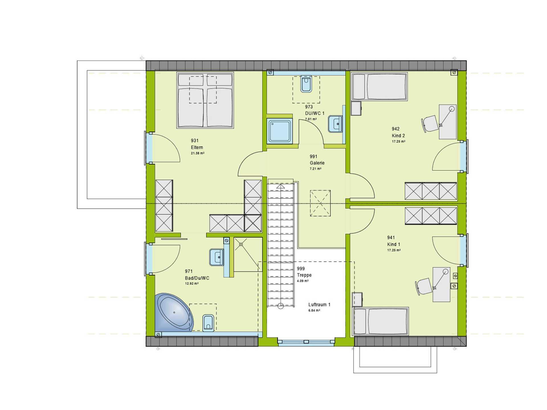 Einfamilienhaus Pure 5 - massa haus
