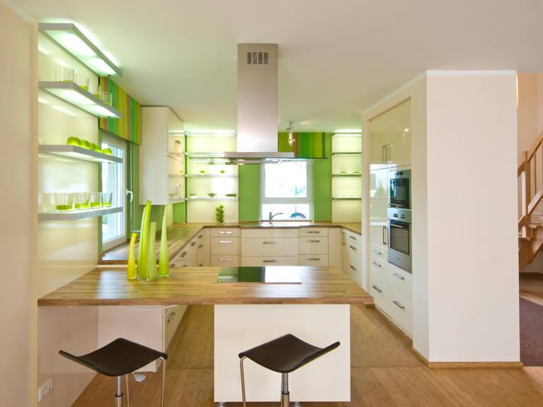 Haus Pure 5 Ansicht Küche 2 von massa haus