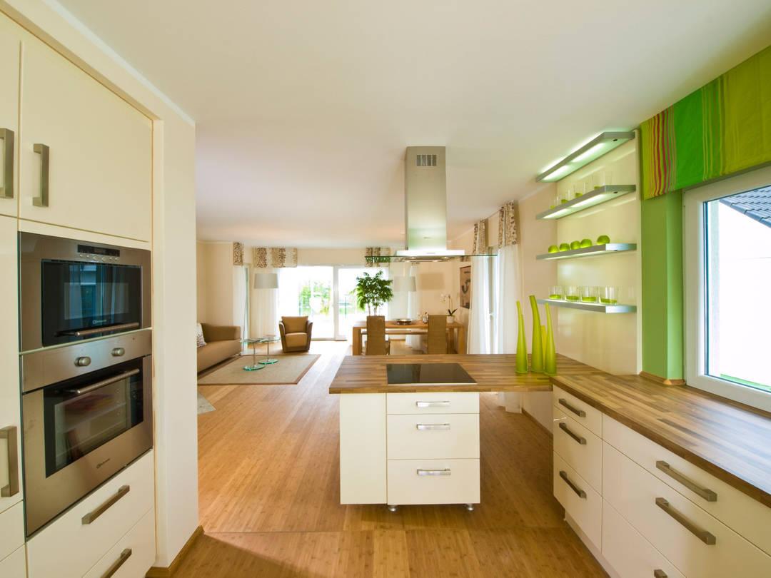 Haus Pure 5 Ansicht Küche von massa haus