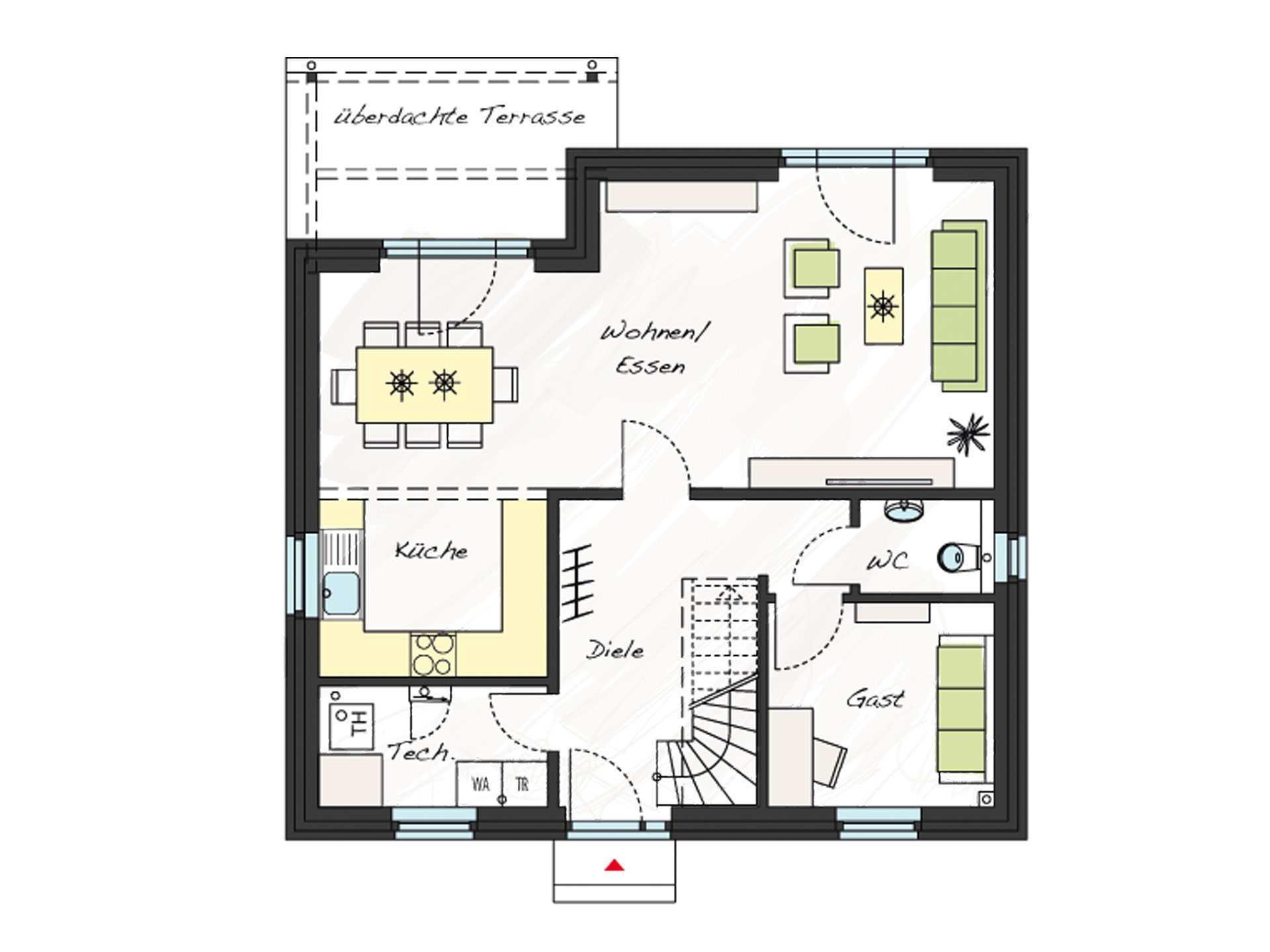 Einfamilienhaus ProFamily 140 KK - ProHaus