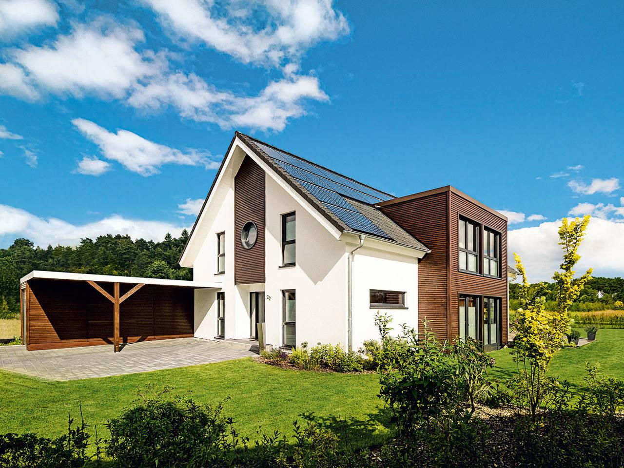 Modernes Landhaus von Haacke Haus