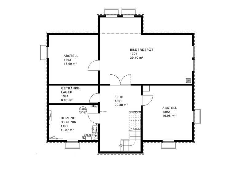 Mythos Villa Grundriss KG von Haacke Haus