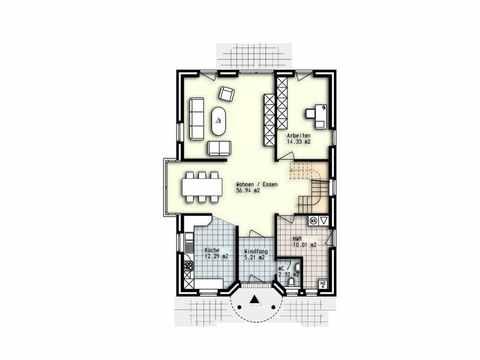 Einfamilienhaus Madrid - OLFA-Haus GmbH Grundriss EG