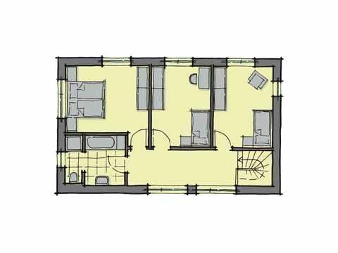 Stadthaus Santa Monica Bellavue - GUSSEK HAUS Grundriss DG