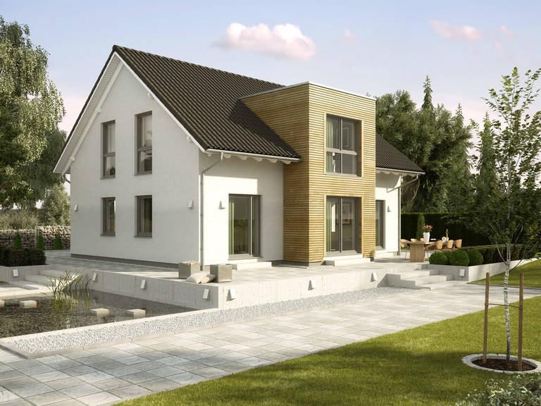 Einfamilienhaus Birkenallee Variante 1 GUSSEK HAUS