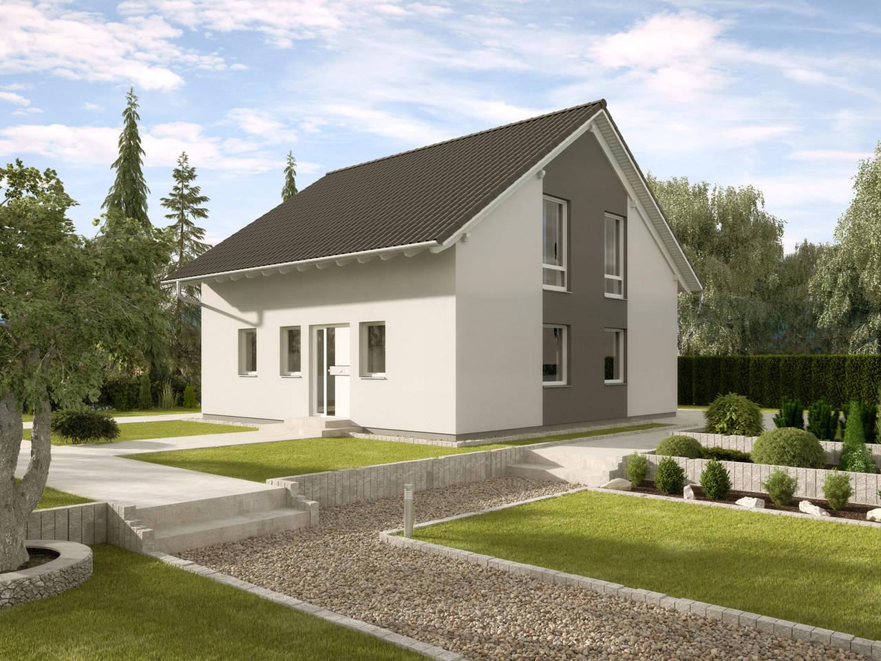 Einfamilienhaus Buchenallee Variante 3 von GUSSEK HAUS