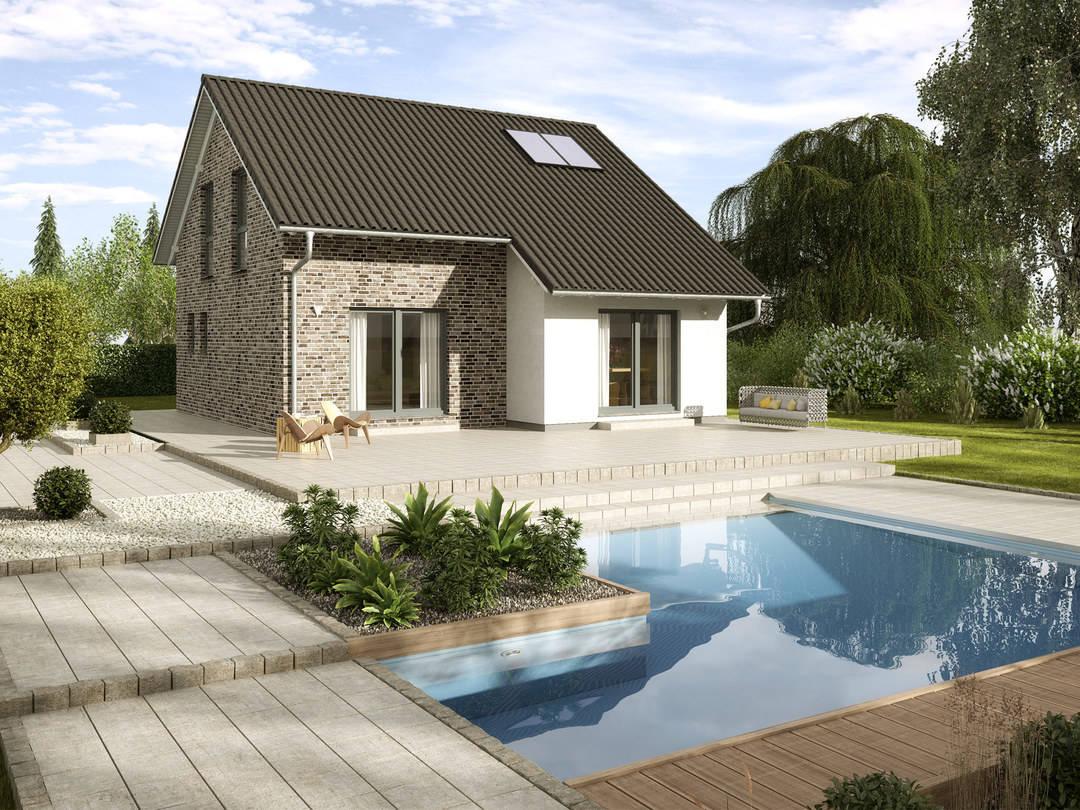 einfamilienhaus kastanienallee variante 1 gussek haus. Black Bedroom Furniture Sets. Home Design Ideas