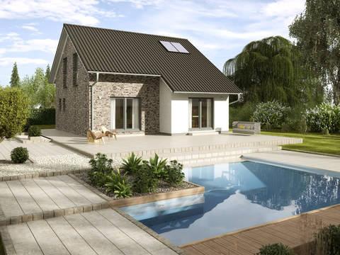 Einfamilienhaus Kastanienallee Variante 1 GUSSEK HAUS