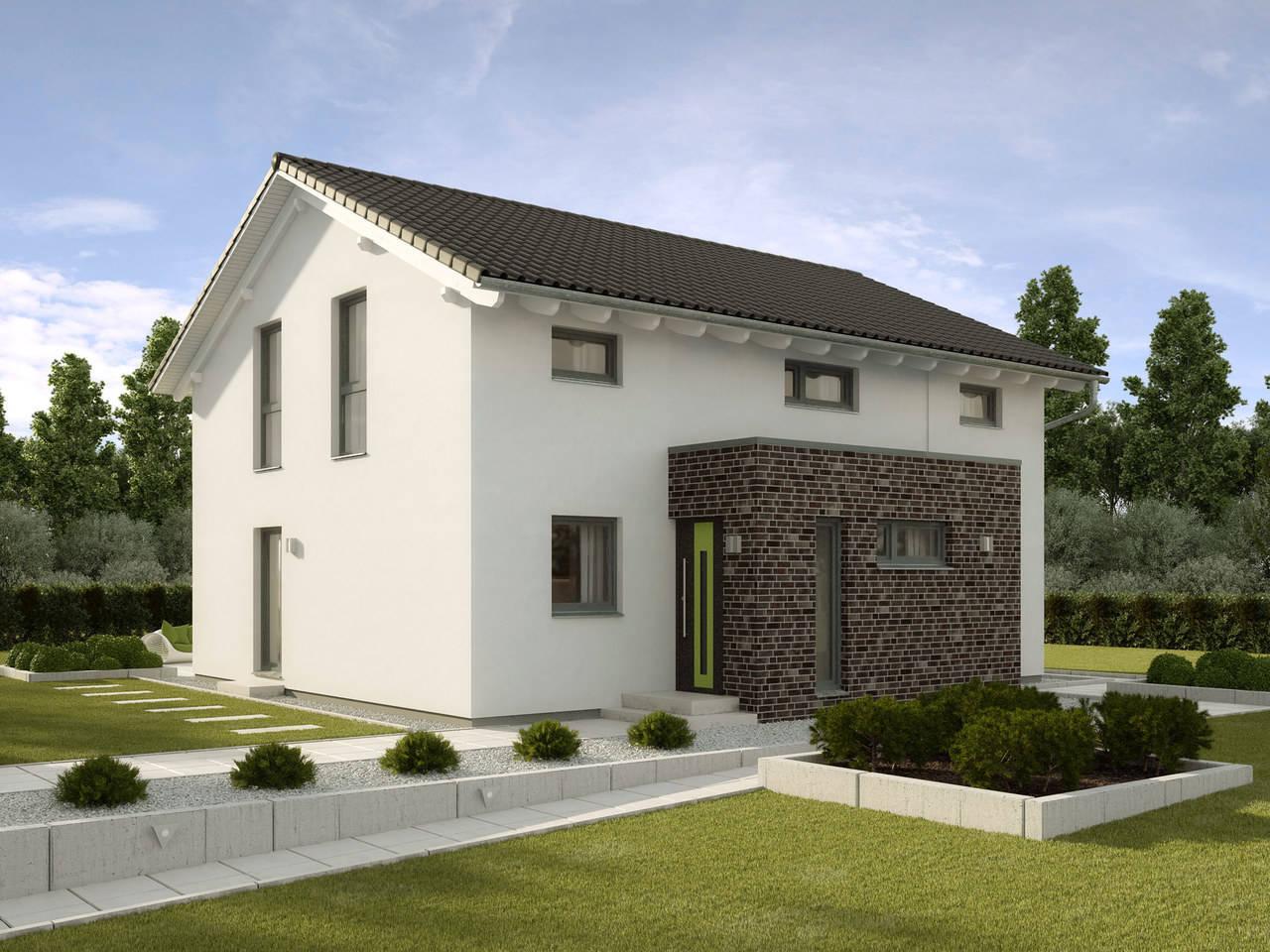 Einfamilienhaus Pappelallee Variante 1 GUSSEK HAUS