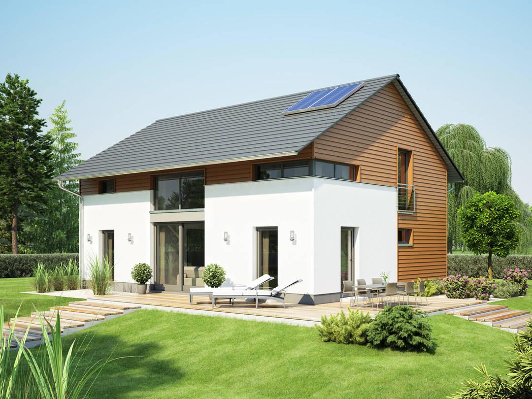 einfamilienhaus variant 1008 eco konzepthaus. Black Bedroom Furniture Sets. Home Design Ideas