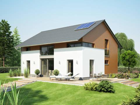 Einfamilienhaus Variant 1008 ECO Konzepthaus