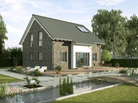 Einfamilienhaus Ulmenallee Variante 1 von GUSSEK HAUS