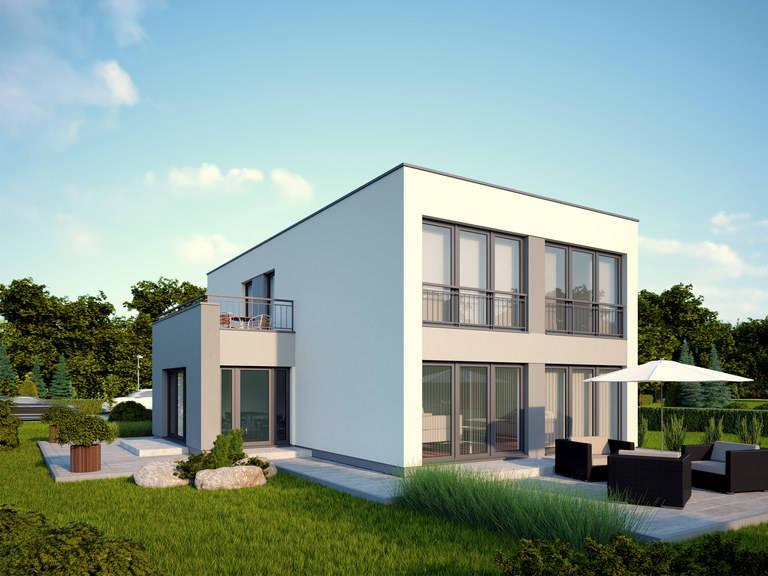 Flachdachhaus Urban 1007 CAV Konzepthaus
