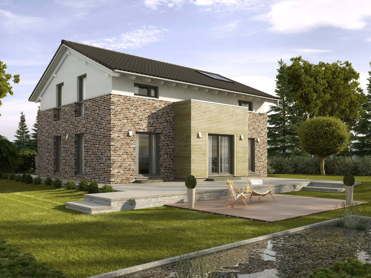 Einfamilienhaus Pappelallee Variante 2 GUSSEK HAUS