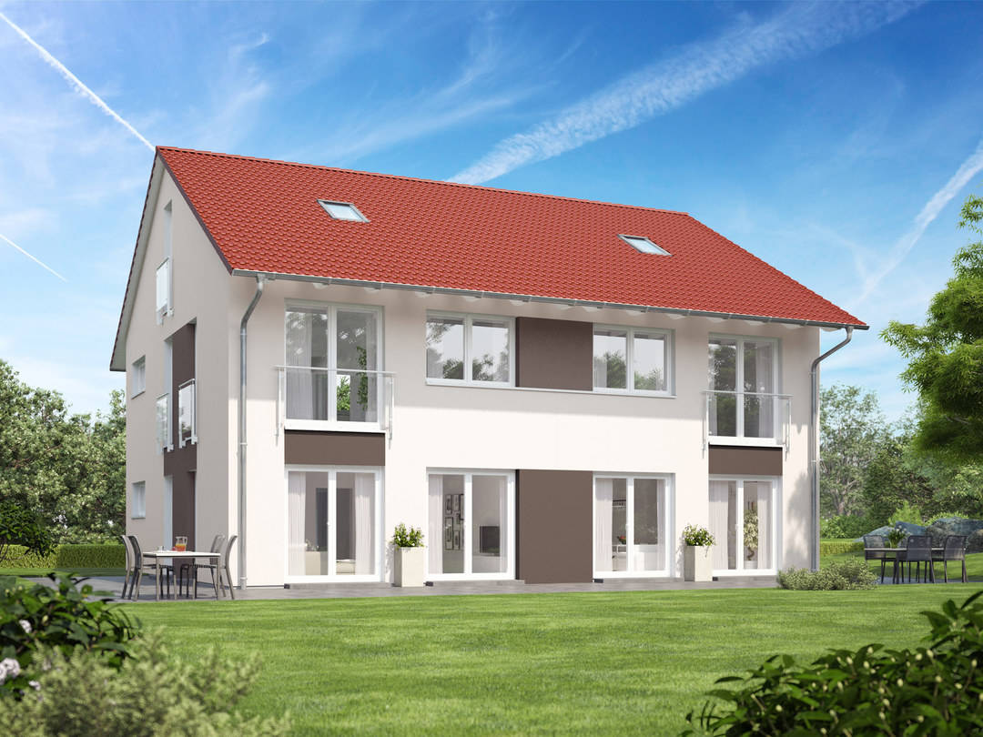 Doppelhaus Variant 1136 BB Konzepthaus