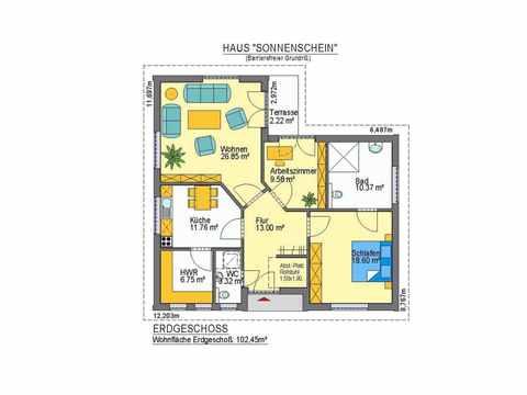 Haus Sonnenschein - ideal-heim-bau Grundriss EG