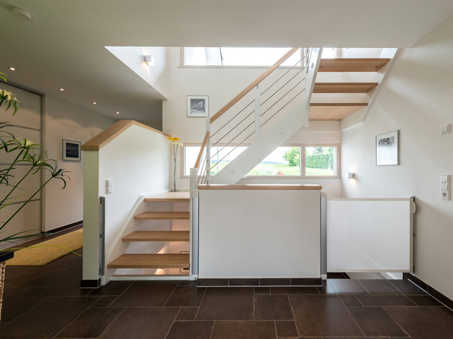 Haus Design 182 Ansicht Treppenhaus von Frammelsberger