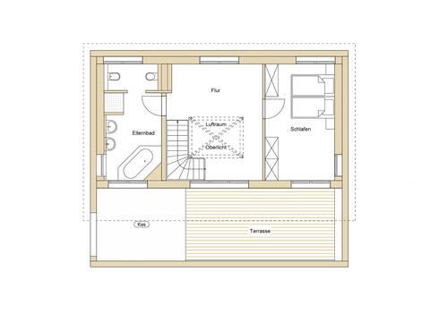 Grundriss OG2 Haus Design 237 von frammelsberger