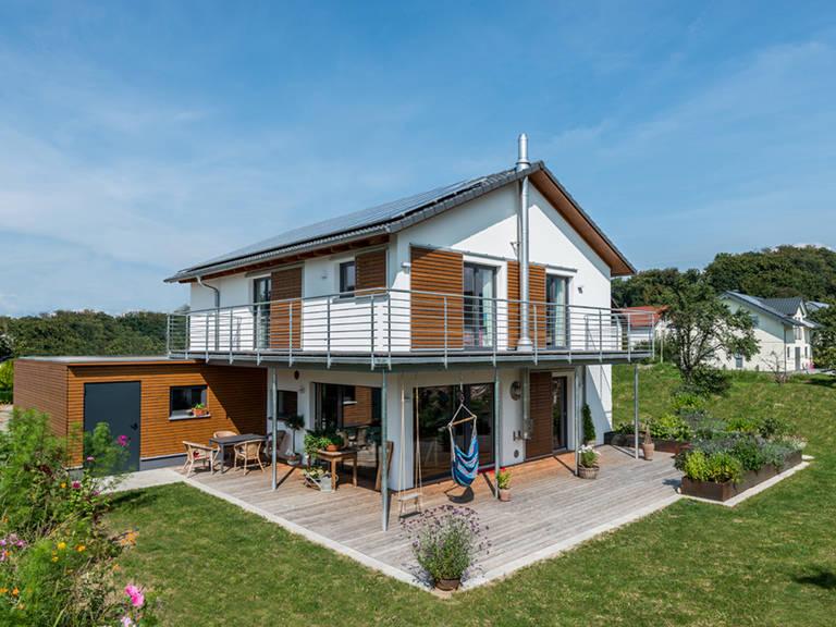 Haus Design 170 von frammelsberger Holzhaus
