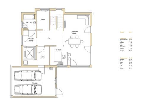 Haus Design 170 Grundriss EG