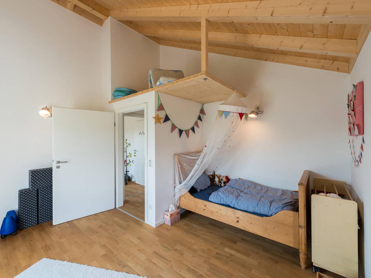 Haus Design 170 Ansicht Kinderzimmer von frammelsberger Holzhaus