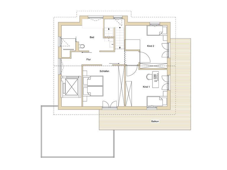 Haus Design 170 Grundriss OG