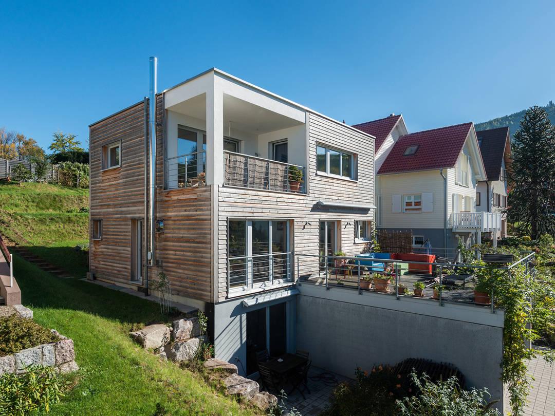Haus Design 120 von frammelsberger Holzhaus