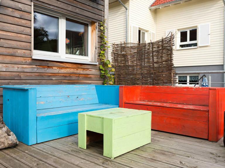 Haus Design 120 Ansicht Terrasse von frammelsberger Holzhaus