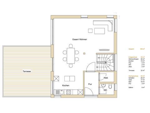 Haus Design 120 Grundriss EG