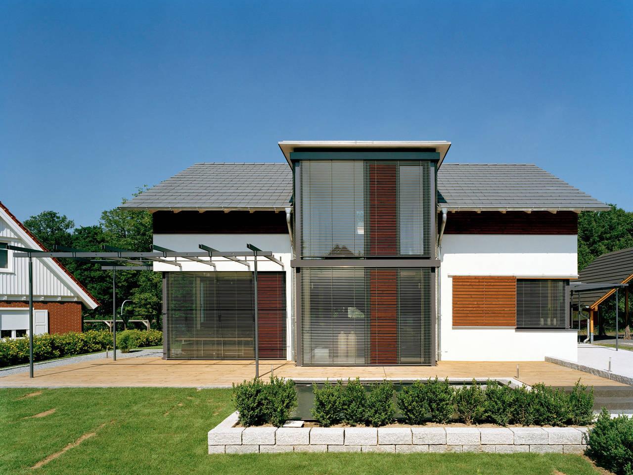 Aussenansicht 4 von Haus Design 168 von frammelsberger Holzhaus