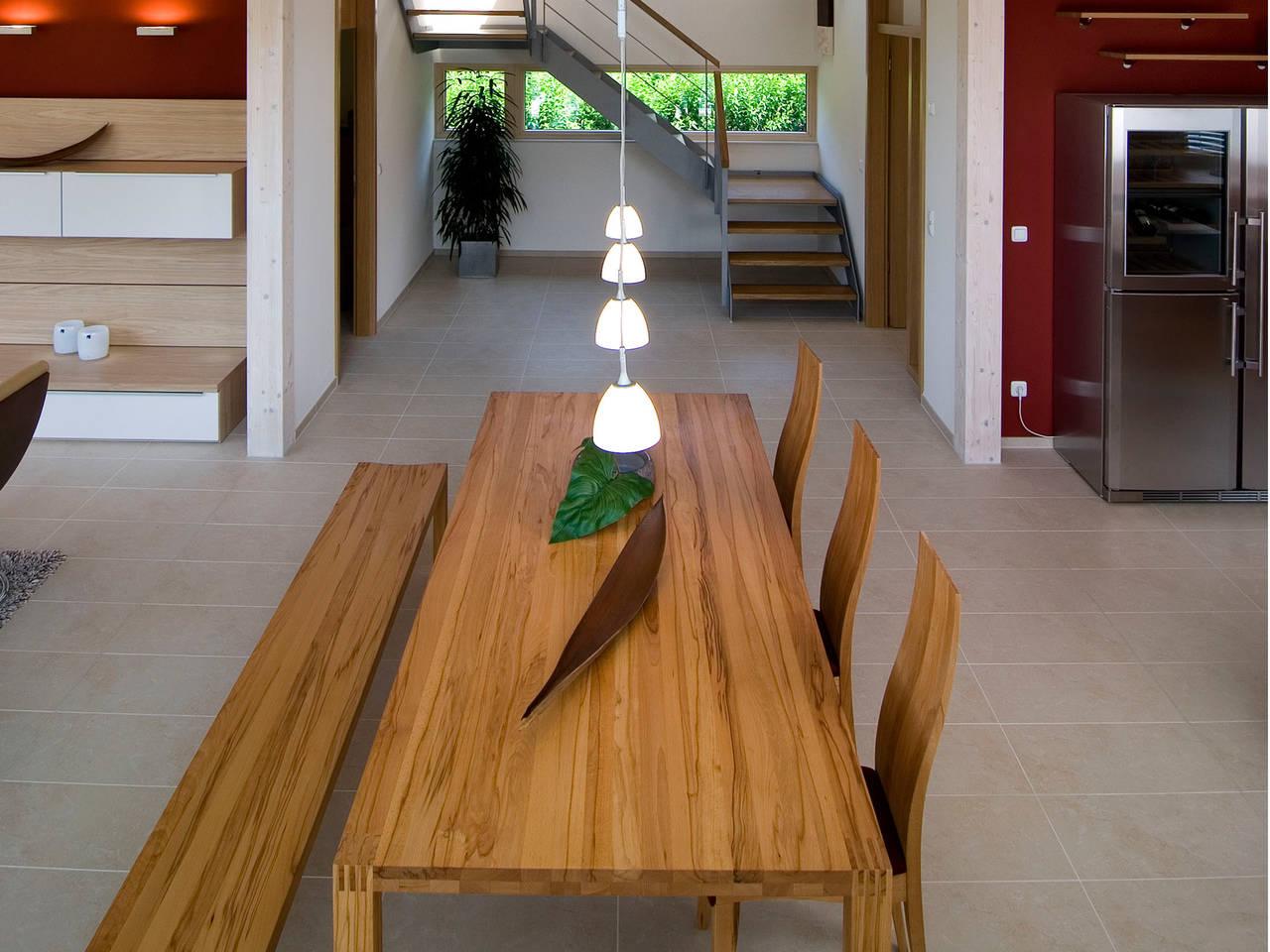 Wohnbereich Haus Design 168 von frammelsberger Holzhaus