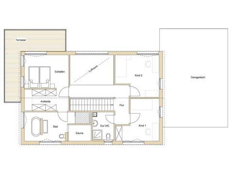 Haus Design 188 Grundriss OG